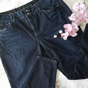 Lane Bryant High Rise Skinny Jeans